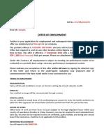 Sample Letter 01