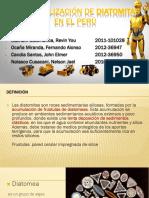 Comercialización de Diatomitas en El Perú