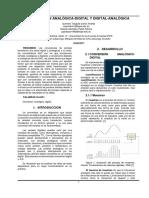 convertidores ADC & DAC