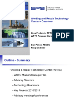 EPRI Welding and Repair Technology