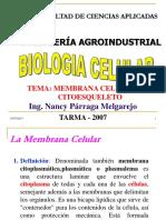 Membrana Celular y Citoesqueleto