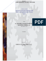 Design Calculation Paper Mill B. Wall Revised SI Report