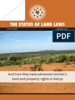 AJWS Final Policy on Gender and Land Laws