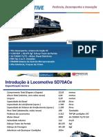 SD70ACe Locomotiva Diesel-Elétrica