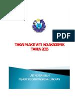 Takwim Ko-Akademik Daerah Langkawi 2015