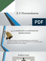 Localización y Condiciones de Abastecimiento