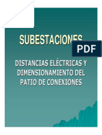 Distancias Eléctricas y Dimensionamiento del Patio