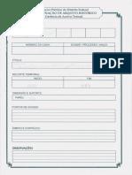 Documento ditadura brasileira - SSP-DF sigilo quebrado