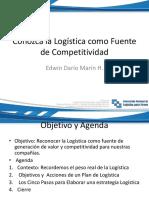 Edwin Marin Conozca La Logistica Como Fuente Competitiva