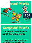 Curriculum Development - Compound Words