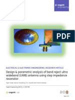 Design parametric analysis of band reject ultra wideband UWB antenna using step impedance resonator.pdf