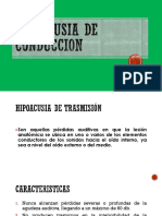 Hipoacusia de Conduccion