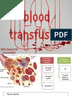 Transfusi Darah Reci