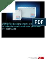 1MRB520308-BEN D en Distributed Busbar Protection REB500