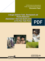 Discussion Paper-South and South-East Asia on Pro-Poor Trade Policies