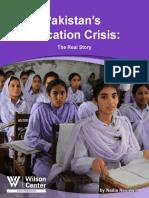 Pakistan's Education Crisis