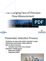 The Changing Face of Precision Flow Measurement-1