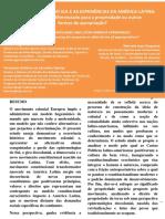 As Epistemologias Do Sul e as Experiências Da América Latina_ Um Significado Diferenciado Para a Propriedade Ou Outras Formas de Apropriação
