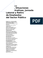 Cartilla Laboral Admt Publica Situaciones Administrativas