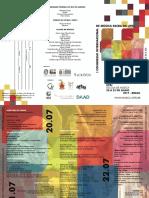 Folder - I Congresso Internacional Música Sacra - Site