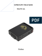 TK102B GPS Tracker User Manual.doc
