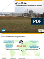 1765 Precision Agriculture Using SAP HANA and F4F Cloud Integration to Improve Agribusiness