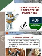 Investigación y Reporte de Incidentes Abril 2014