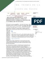 _ Sección Monográfica - Los Límites Del Ensayo