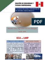Monitoreo de Agua y Efluentes en El Sector Minero Metalurgico