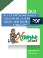 Plan de Negocio Xtreme Heroico