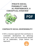 CSR AND FP