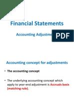 Accounting Adjustments (3)