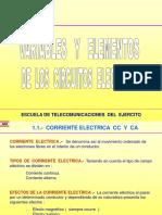 Variables y Elementos de redes electricas