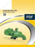 GOLDAMATIC Deep Well Injector Pumps
