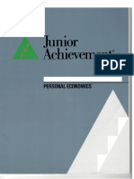 JA Personal Economics Guide for Consultants and Teachers