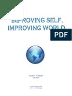 Improving Self, Improving World