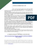 Fisco e Diritto - Corte Di Cassazione n 2439 2010