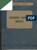 Diccionario Filosófico Marxista