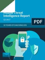 Étude Skycure Cybersécurité Mobile