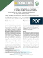 Cacaotal Analisis Botanico