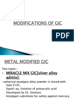 MODIFICATIONS OF GIC.pptx