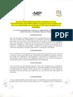 Acuerdo Interinstitucional Para La Aplicación de Delitos Menos Graves Por Los Juzgados de Paz-1