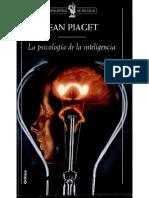 Piaget La Psicologia de La Inteligencia