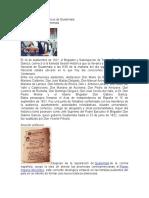 Acontecimientos históricos de Guatemala.doc