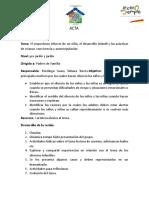 ACTAS 2016
