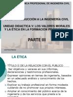 Unidad Didactica Parte 3 - Los Valores Morales y Eticos