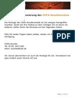 HOFA-Akustik Tipps Zur Positionierung