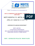 Mstc e Bulletin