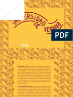 Programa Universidad de Verano 2017 [Fundación Yaxs / Festival La Valiente]