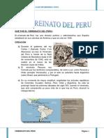 El Virreinato Del Peru Listo